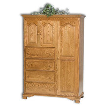 Load image into Gallery viewer, Amish USA Made Handcrafted Heritage Chifferobe sold by Online Amish Furniture LLC