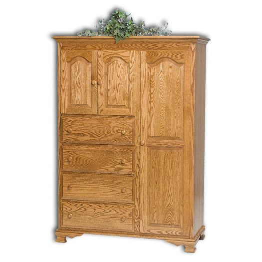 Amish USA Made Handcrafted Heritage Chifferobe sold by Online Amish Furniture LLC