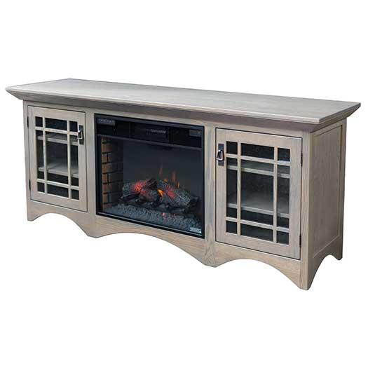 Amish USA Made Handcrafted Horizons Fireplace sold by Online Amish Furniture LLC