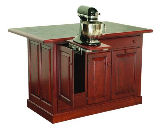 Amish USA Made Handcrafted IS_76 Kitchen Island sold by Online Amish Furniture LLC