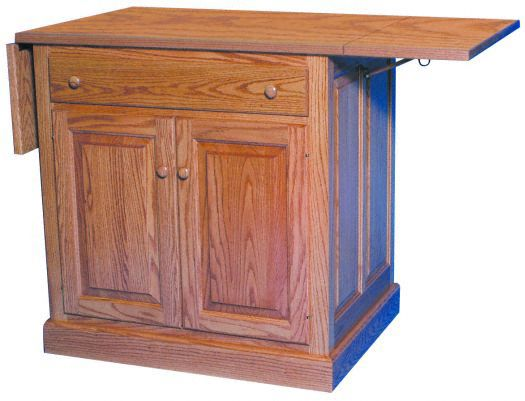 Amish USA Made Handcrafted IS_71 Kitchen Island sold by Online Amish Furniture LLC