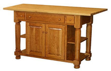 Load image into Gallery viewer, Amish USA Made Handcrafted IS_96 Kitchen Island sold by Online Amish Furniture LLC