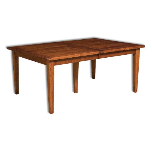 Amish USA Made Handcrafted Jacoby Leg Table sold by Online Amish Furniture LLC