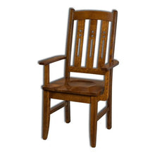 Load image into Gallery viewer, Amish USA Made Handcrafted Jamestown Chair sold by Online Amish Furniture LLC