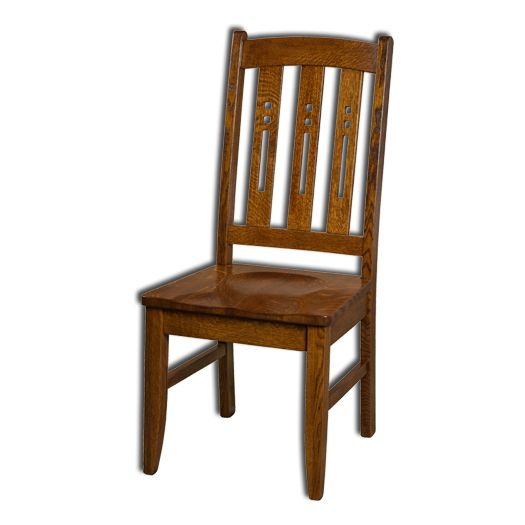 Amish USA Made Handcrafted Jamestown Chair sold by Online Amish Furniture LLC