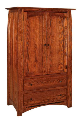 Amish USA Made Handcrafted Boulder Creek Armoires sold by Online Amish Furniture LLC