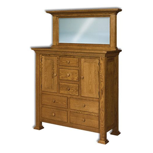 Amish USA Made Handcrafted Empire His and Her Chest sold by Online Amish Furniture LLC
