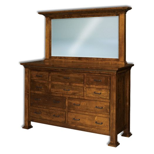 Amish USA Made Handcrafted Empire 10-Drawer Dresser sold by Online Amish Furniture LLC