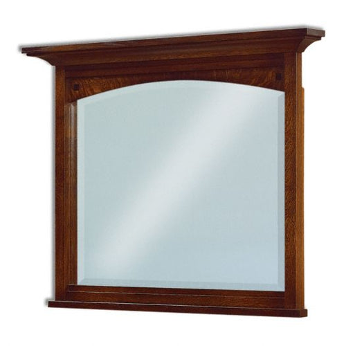Amish USA Made Handcrafted Kascade Straight Mirrors sold by Online Amish Furniture LLC