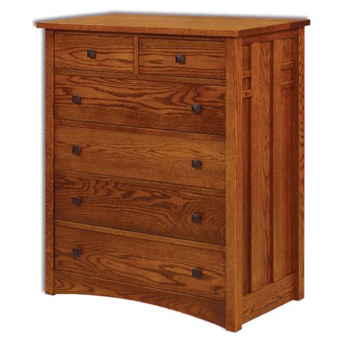Amish USA Made Handcrafted Kascade Chest of Drawers sold by Online Amish Furniture LLC