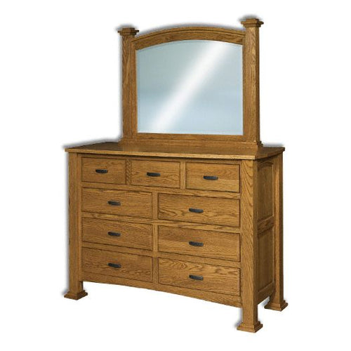 Amish USA Made Handcrafted Lexington Mule Dresser sold by Online Amish Furniture LLC