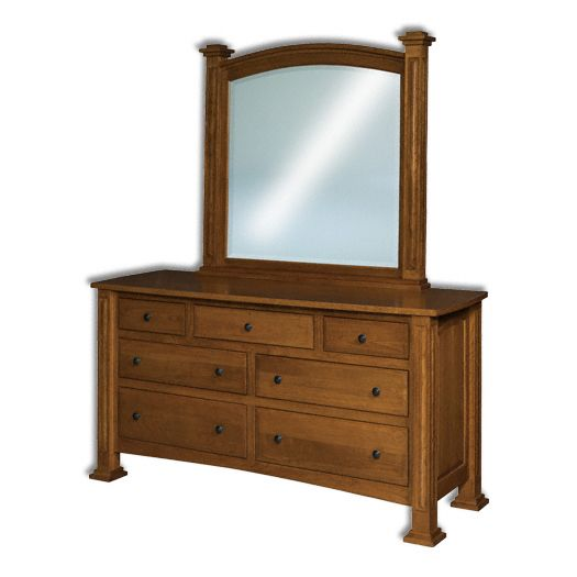 Amish USA Made Handcrafted Lexington 7-Drawer Dresser sold by Online Amish Furniture LLC