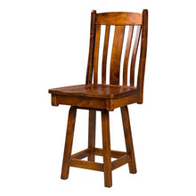 Load image into Gallery viewer, Amish USA Made Handcrafted Kensington Bar Stool sold by Online Amish Furniture LLC
