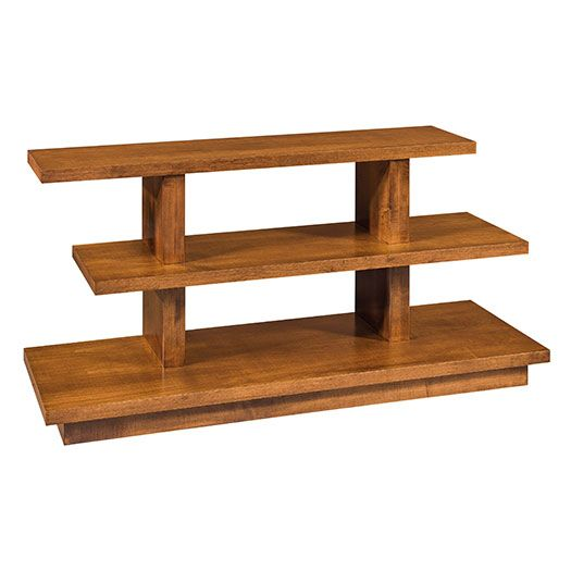 Amish USA Made Handcrafted Kewask Flat TV Stand sold by Online Amish Furniture LLC