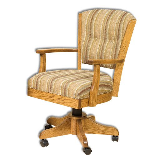 Amish USA Made Handcrafted Lansfield Chair sold by Online Amish Furniture LLC