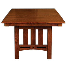 Load image into Gallery viewer, Amish USA Made Handcrafted Lavega Trestle Table sold by Online Amish Furniture LLC