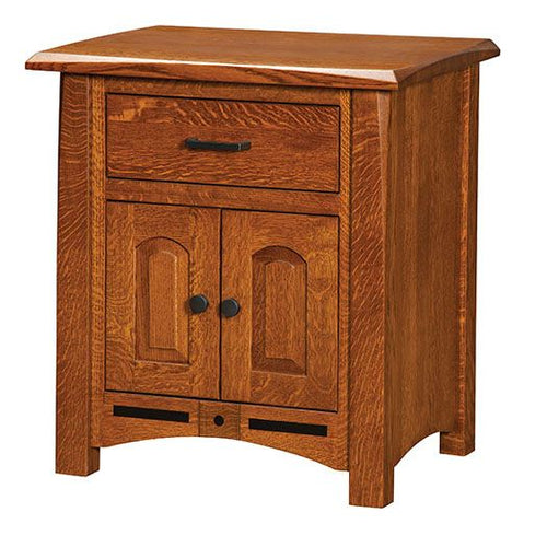 Amish USA Made Handcrafted Lavega Night Stand sold by Online Amish Furniture LLC