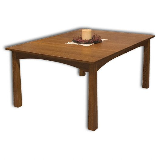 Amish USA Made Handcrafted Modesto Leg Table sold by Online Amish Furniture LLC