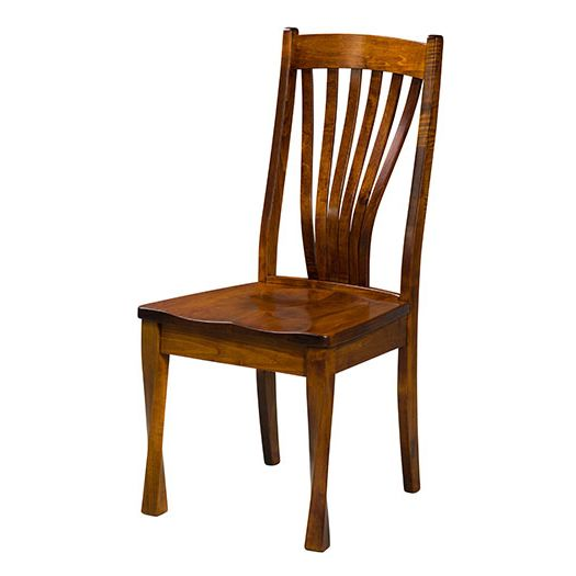 Amish USA Made Handcrafted Lexington Fan Chair sold by Online Amish Furniture LLC