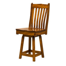Load image into Gallery viewer, Amish USA Made Handcrafted Liberty Bar Stool sold by Online Amish Furniture LLC
