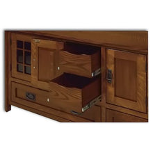 Load image into Gallery viewer, Amish USA Made Handcrafted Landmark 72 TV Stand sold by Online Amish Furniture LLC