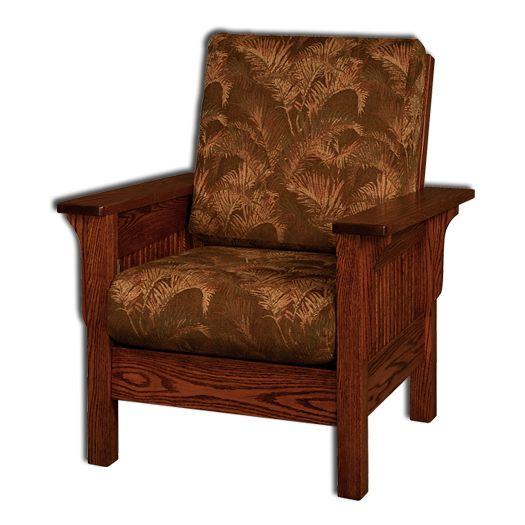 Amish USA Made Handcrafted Landmark Chair sold by Online Amish Furniture LLC