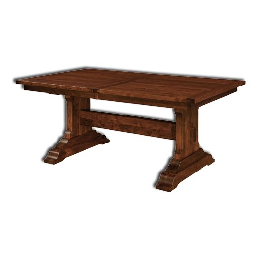 Amish USA Made Handcrafted Manchester Trestle Table sold by Online Amish Furniture LLC