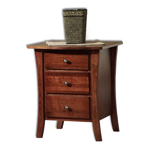 Amish USA Made Handcrafted Manhattan Nightstand sold by Online Amish Furniture LLC