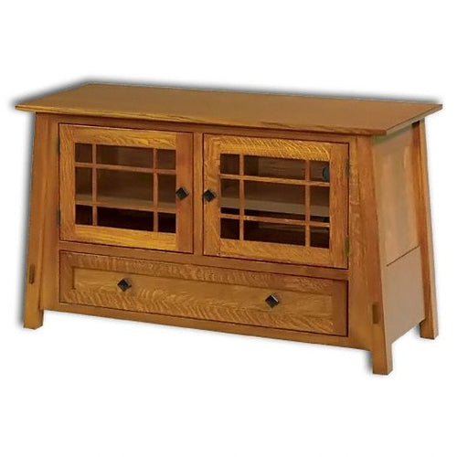 Amish USA Made Handcrafted McCoy 49 TV Cabinet sold by Online Amish Furniture LLC