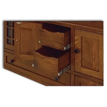 Load image into Gallery viewer, Amish USA Made Handcrafted McCoy 72 TV Cabinet sold by Online Amish Furniture LLC