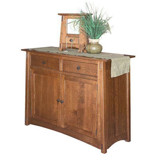 Amish USA Made Handcrafted Mccoy Leaf Store Cabinet sold by Online Amish Furniture LLC