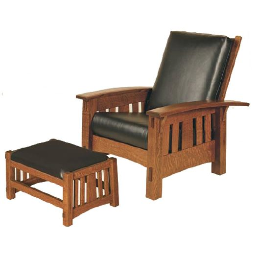 Amish USA Made Handcrafted McCoy Morris Chair sold by Online Amish Furniture LLC