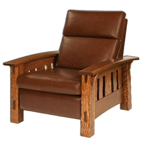 Amish USA Made Handcrafted McCoy Recliner sold by Online Amish Furniture LLC