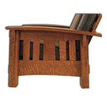 Load image into Gallery viewer, Amish USA Made Handcrafted McCoy Morris Chair sold by Online Amish Furniture LLC