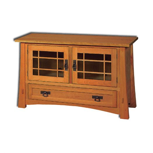 Amish USA Made Handcrafted Modesto TV Cabinets sold by Online Amish Furniture LLC