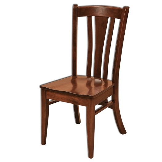 Amish USA Made Handcrafted Meridan Chair sold by Online Amish Furniture LLC