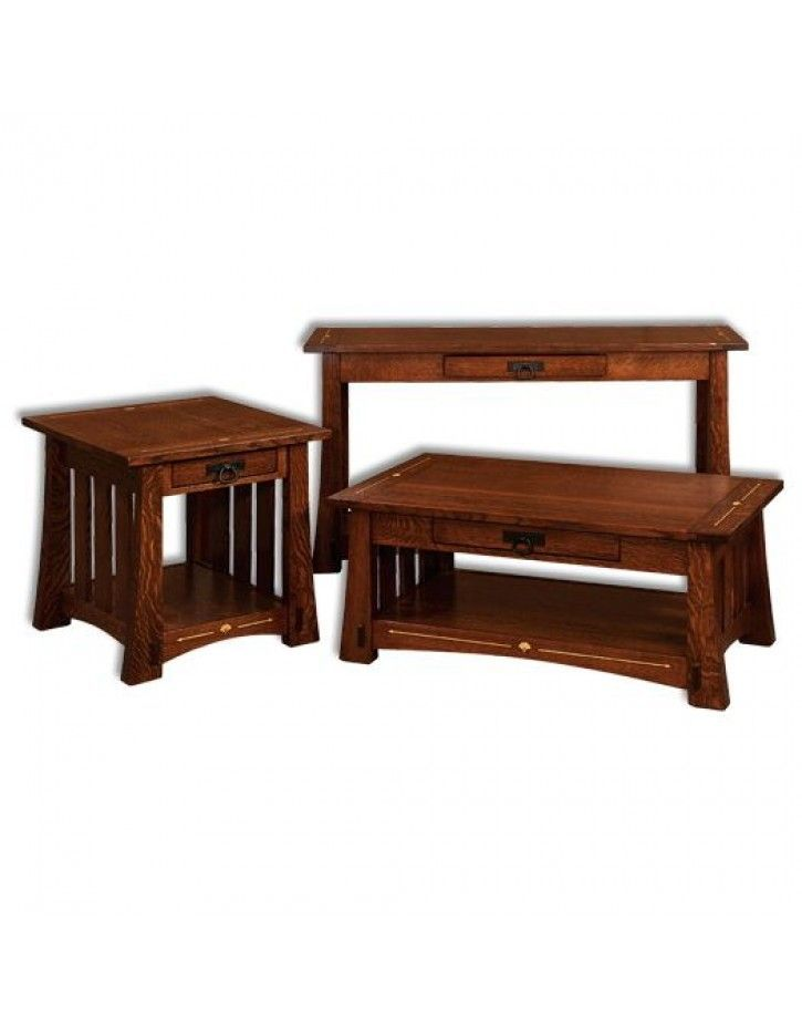 Amish USA Made Handcrafted Mesa Occasional Tables sold by Online Amish Furniture LLC