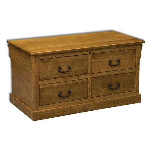 Amish USA Made Handcrafted Modesto Cedar Chest sold by Online Amish Furniture LLC