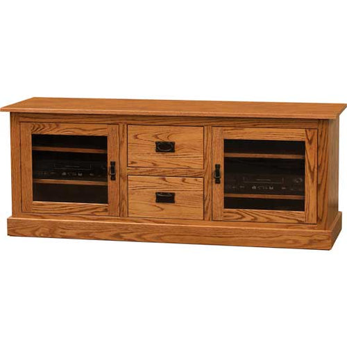 Amish USA Made Handcrafted Mission 062 TV Console sold by Online Amish Furniture LLC