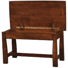 Load image into Gallery viewer, Amish USA Made Handcrafted Mondovi Bedside Bench sold by Online Amish Furniture LLC