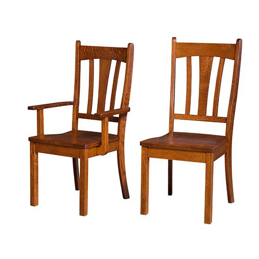 Amish USA Made Handcrafted Winfield Chair sold by Online Amish Furniture LLC