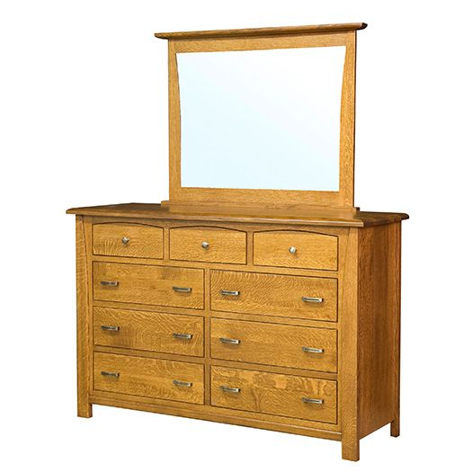 Amish USA Made Handcrafted Mondovi Dressers sold by Online Amish Furniture LLC