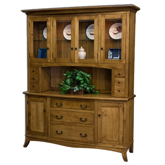Amish USA Made Handcrafted Montpelier Hutch sold by Online Amish Furniture LLC