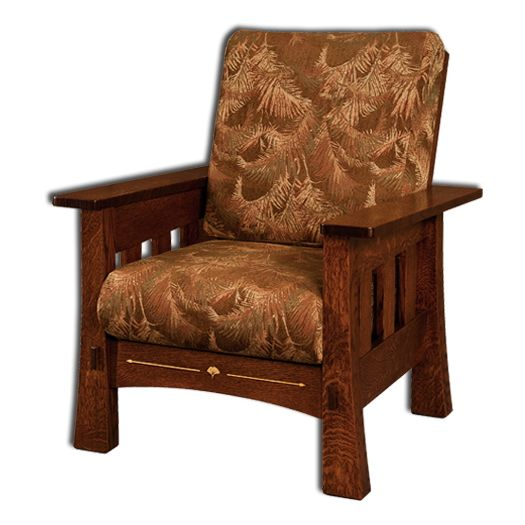 Amish USA Made Handcrafted Mesa Chair sold by Online Amish Furniture LLC