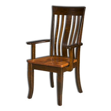 Load image into Gallery viewer, Amish USA Made Handcrafted Newbury Chair sold by Online Amish Furniture LLC