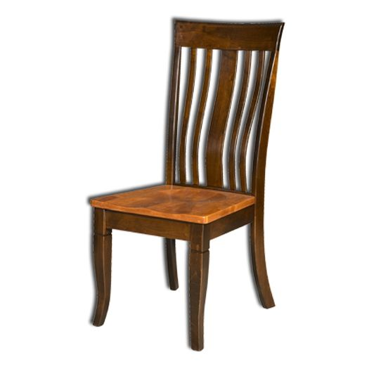 Amish USA Made Handcrafted Newbury Chair sold by Online Amish Furniture LLC