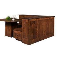 Load image into Gallery viewer, Amish USA Made Handcrafted Newport Nook Set sold by Online Amish Furniture LLC