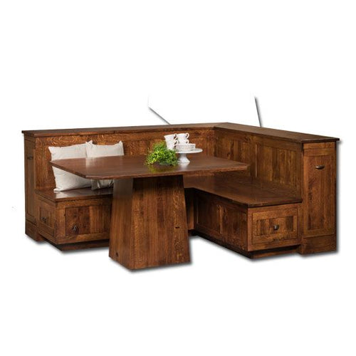 Amish USA Made Handcrafted Newport Nook Set sold by Online Amish Furniture LLC