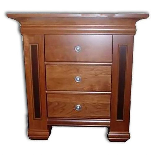 Amish USA Made Handcrafted Timber Ridge 3-Drawer Nightstand sold by Online Amish Furniture LLC