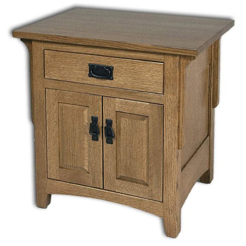 Amish USA Made Handcrafted Millcreek Mission Nightstand sold by Online Amish Furniture LLC
